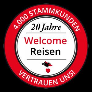 20 Jahre Welcome Reisen - 4000 Stammkunden